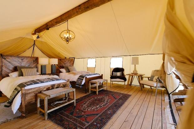 Gone Glamping Luxury Tents Offer An Indulgent Retreat In