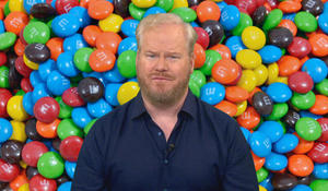 "Jim Gaffigan on the ""disturbing"" store that fulfills all of your M&M needs"