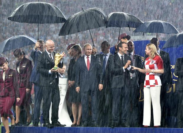 Soccer Football - World Cup - Final - France v Croatia