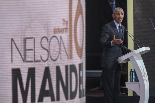 President Barack Obama -- Nelson Mandela speech