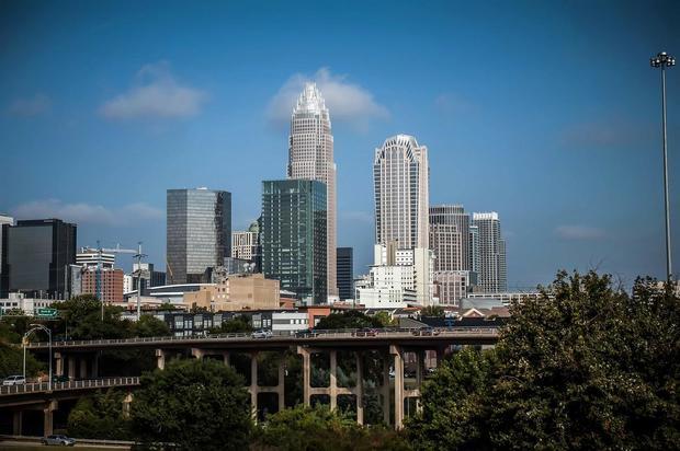 Charlotte, North Carolina skyline