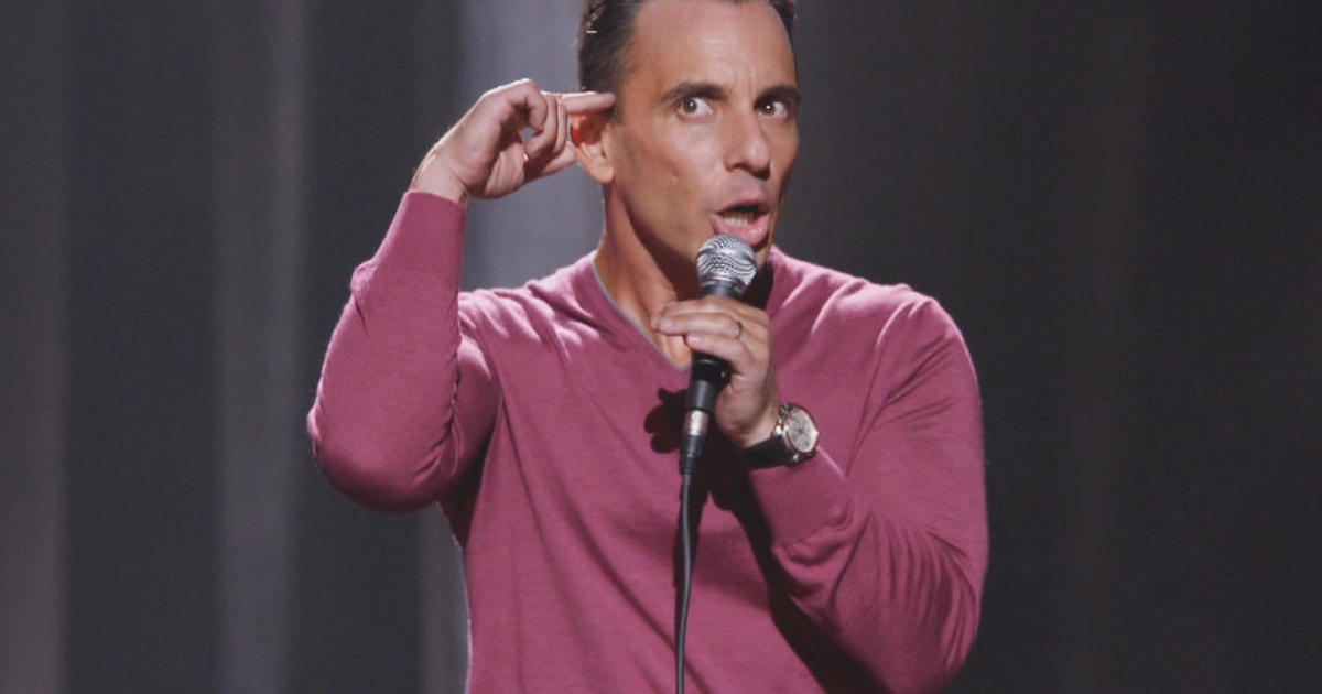 Comedian Sebastian Maniscalco on family - CBS News