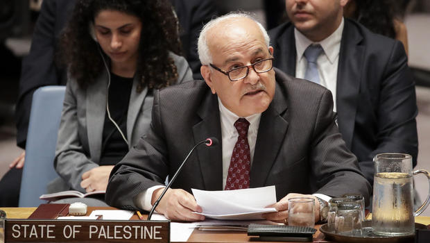 Middle East Peace Plan Palestinian Leadership Says Donald Trump