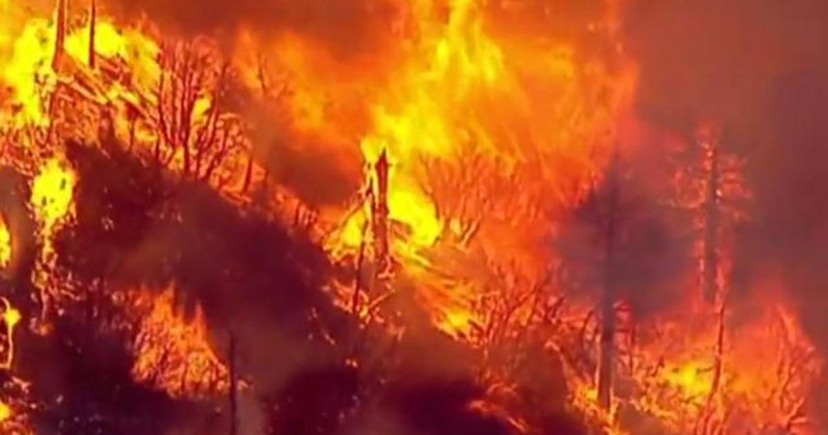 California wildfire forces thousands from their homes