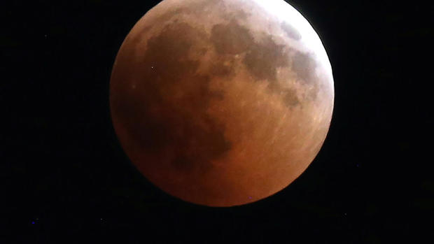 Longest lunar eclipse of the 21st century
