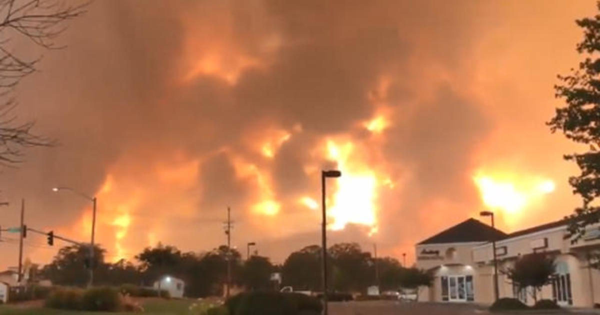 """Raging NorCal wildfire turns deadly, forces """"mass evacuations"""""""