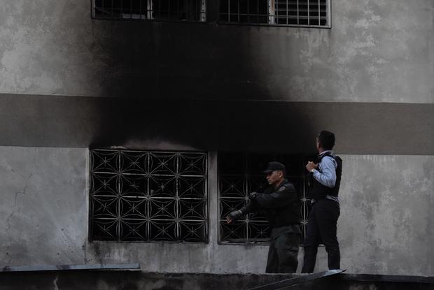 VENEZUELA-NATIONAL GUARD-EXPLOSION