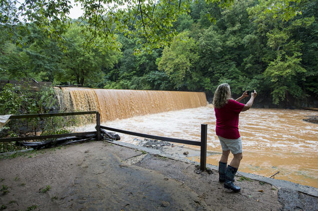 Evacuation-Heavy Rain-Virginia