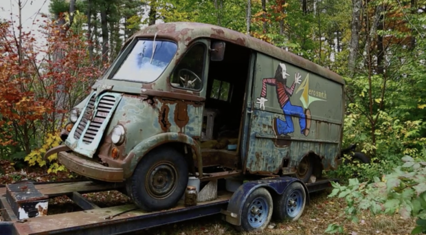 Aerosmith's original tour van