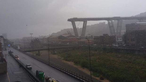 Motorway bridge collapses in Italy, killing at least 22 - USA