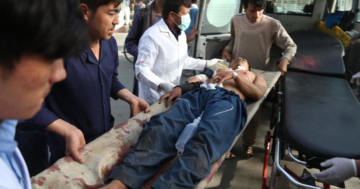 Dozens killed as bomber hits college students in Afghan capital