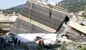 Anger, questions day after deadly Italian bridge collapse
