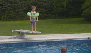 How a 95-year-old veteran gave a young boy a lesson in courage