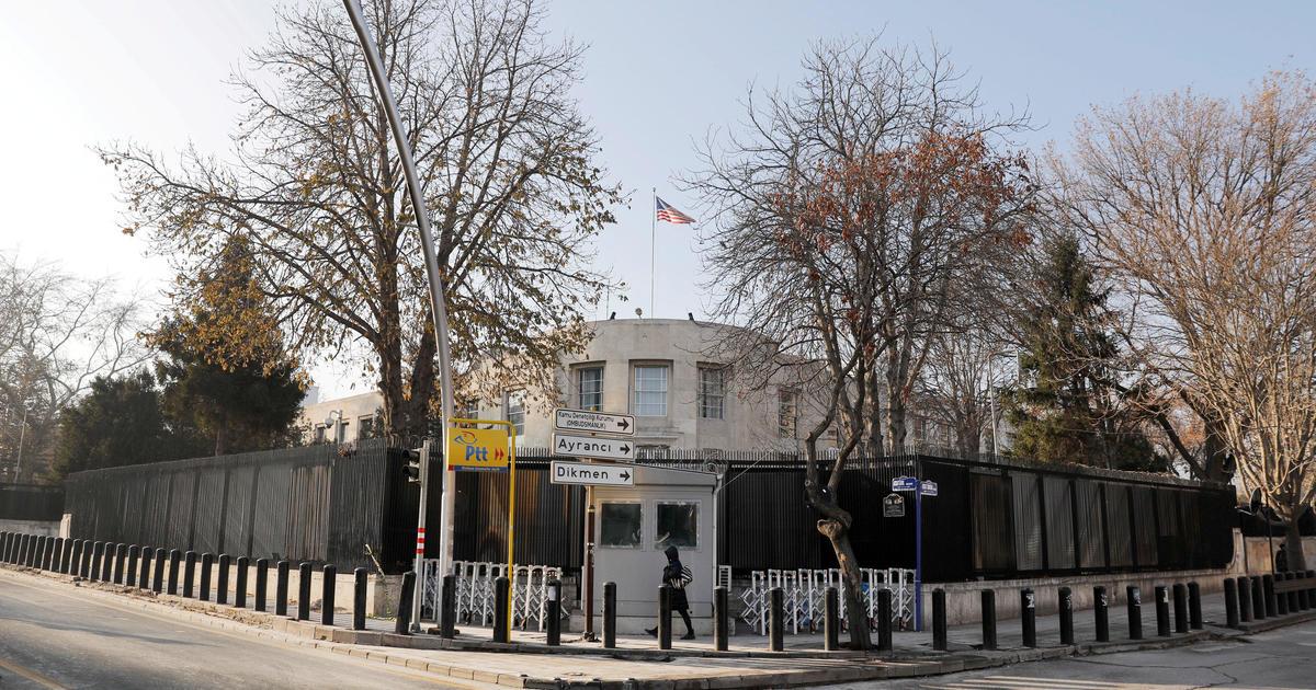Shots fired at gate of U.S. Embassy in Ankara, Turkey - CBS News