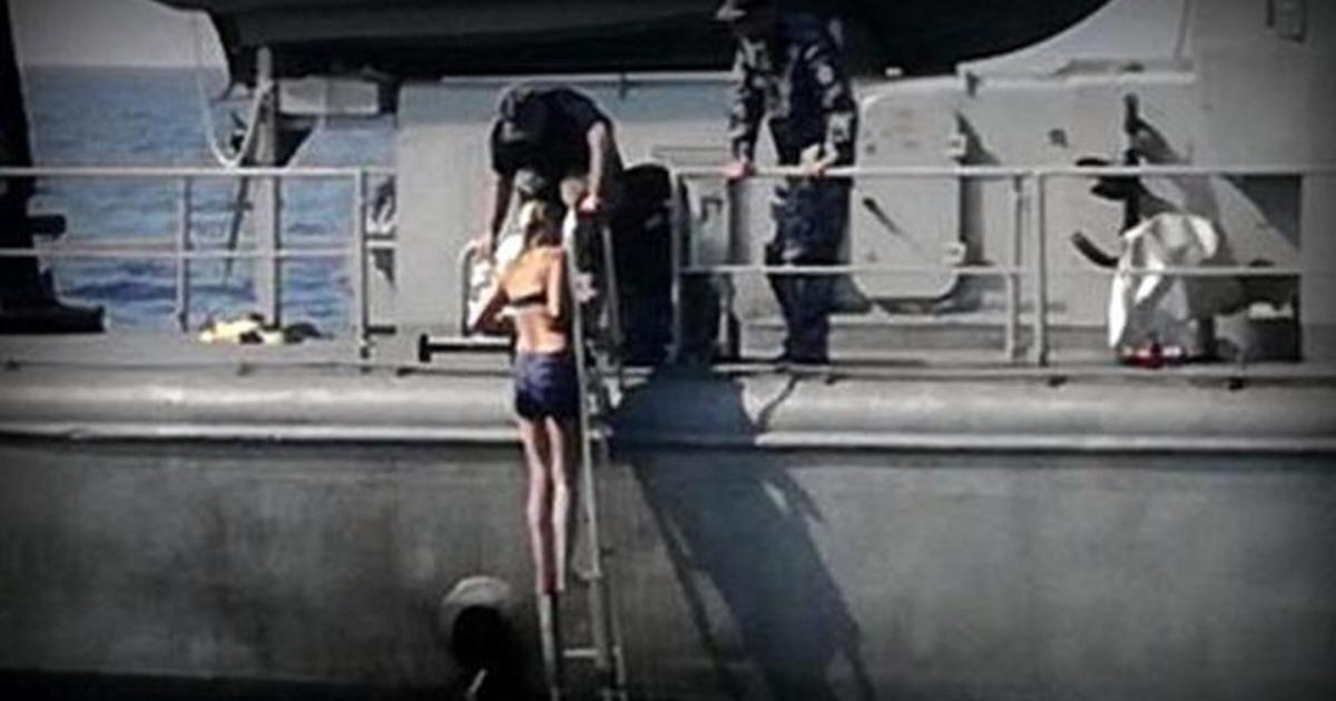 Woman Rescued After Falling Off Cruise Ship In Adriatic -8661
