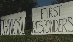 California firefighters surprise neighbors with random acts of kindness