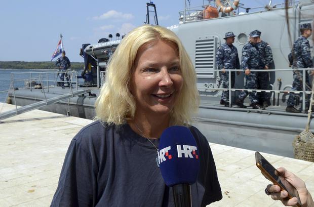 Croatia Cruise Ship Fall