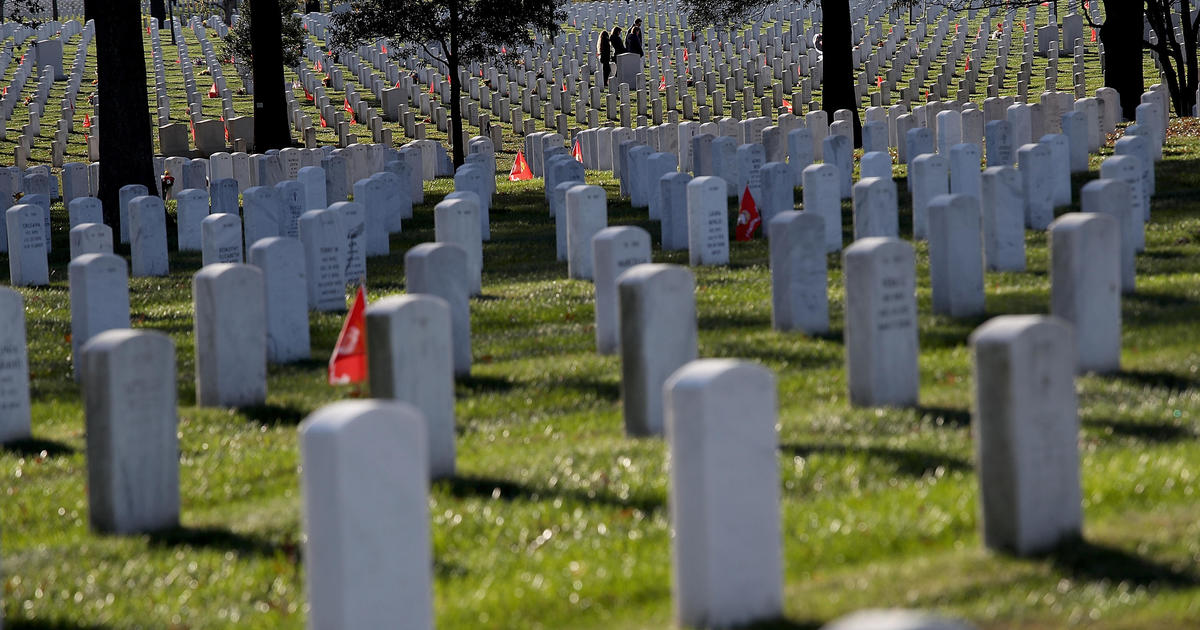 Arlington National Cemetery opens new section with Civil War burials