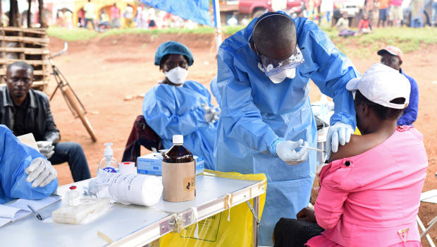 Doctor in eastern Congo contracts Ebola in 'dreaded' scenario
