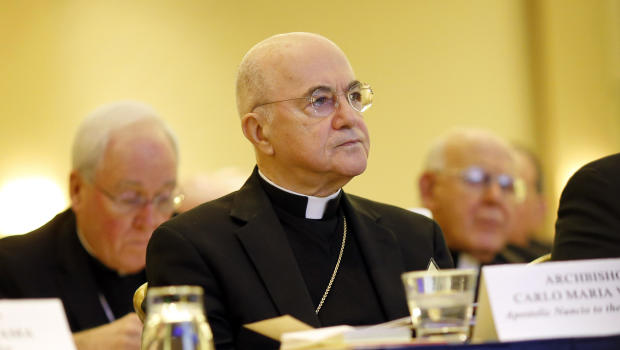 """Archibishop's claims against Pope Francis """"like an earthquake for the Church"""""""