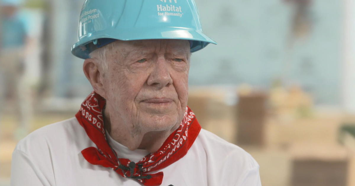 Former President Jimmy Carter on service and how the ...