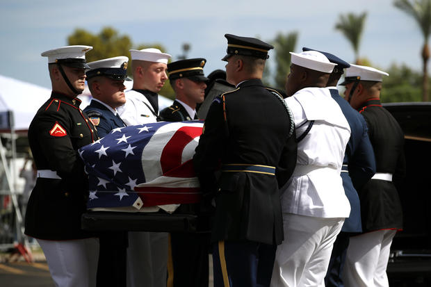 John McCain laid to rest