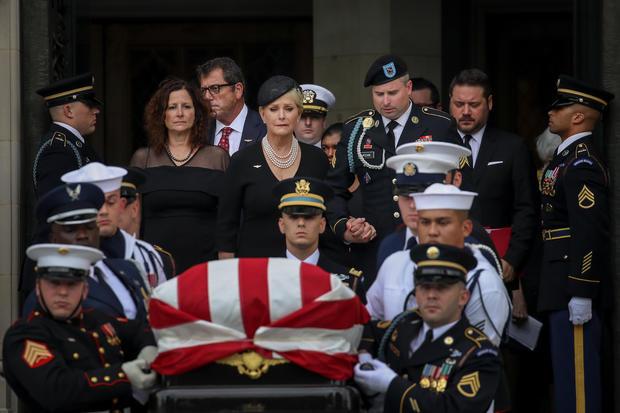 National Cathedral Hosts Memorial Service For Sen. John McCain (R-AZ)
