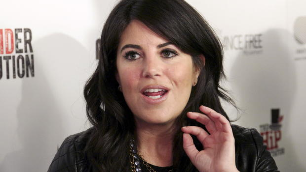 Monica Lewinsky storms off-stage interview after 'off-limits' Clinton question