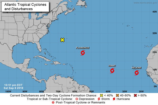 Florence Now A Major Category 4 Hurricane