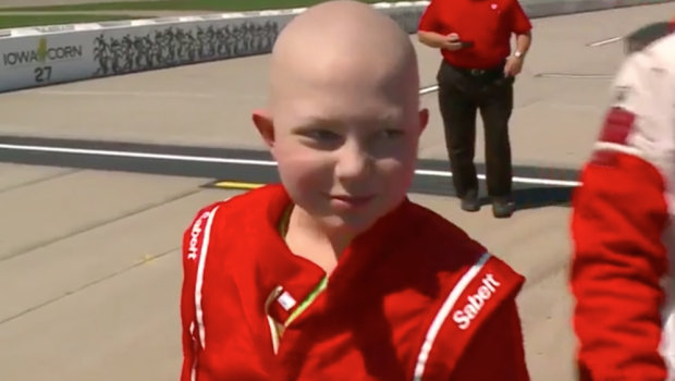 Iowa Boy Who Asked for Racing Stickers for His Casket Dies