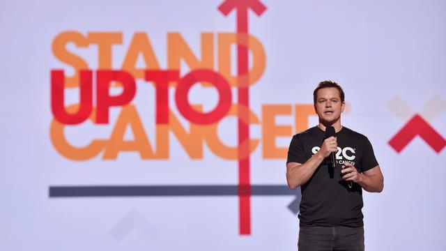 Stand Up To Cancer -- Matt Damon