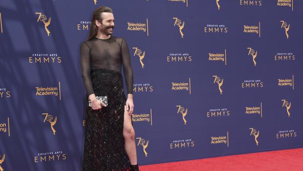 Jonathan Van Ness Defends Emmys Dress After Queer Eye Win