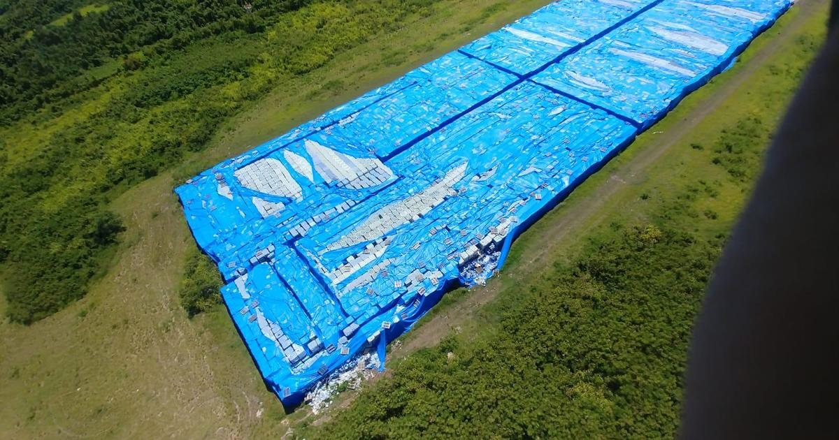 Possibly millions of water bottles meant for Hurricane Maria victims left on tarmac in Puerto Rico