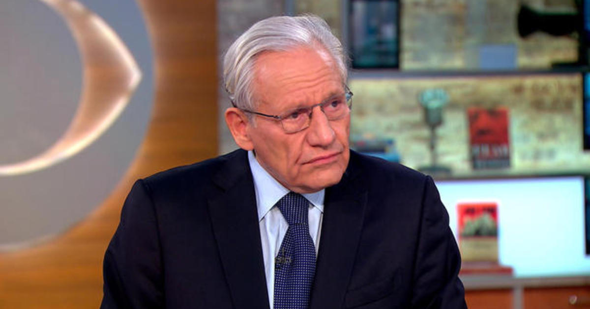 Bob Woodward says he would release book interview tapes if strongly challenged