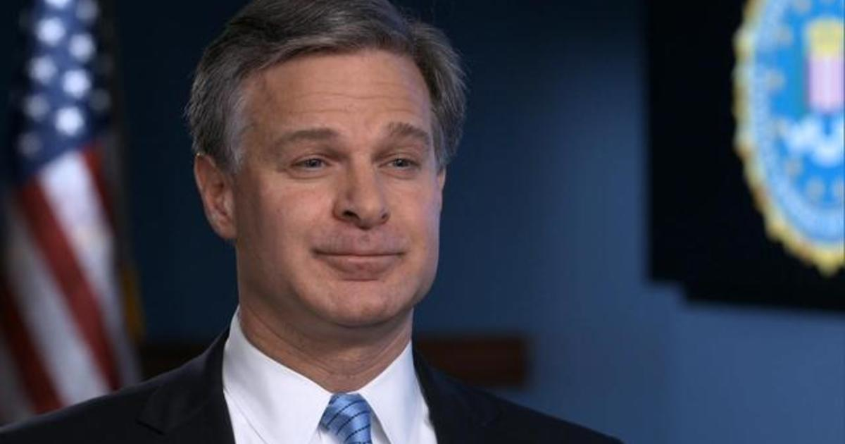 """FBI Director Christopher Wray details Russia's """"information warfare"""" before midterms"""