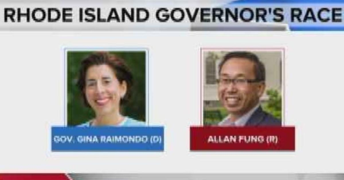 Rhode Island Governors Race