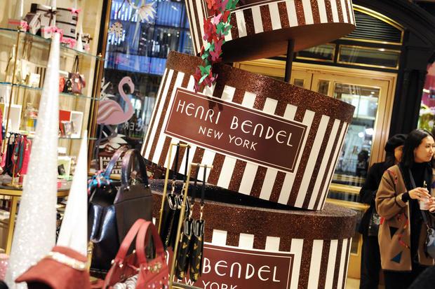Henri Bendel Holiday Window Unveiling