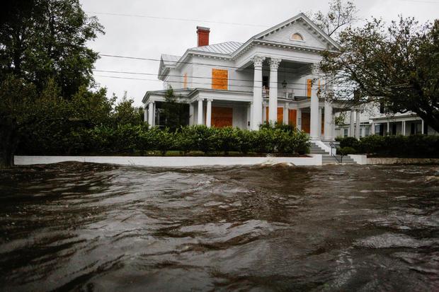 New Burn Nc >> Tropical Storm Florence New Bern Residents Recount Narrow