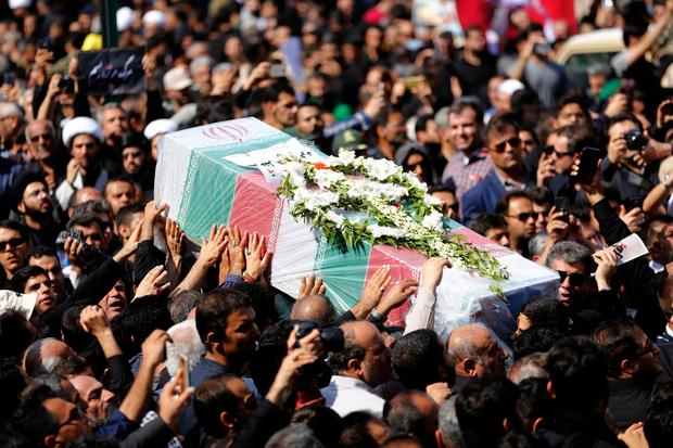 IRAN-UNREST-FUNERAL
