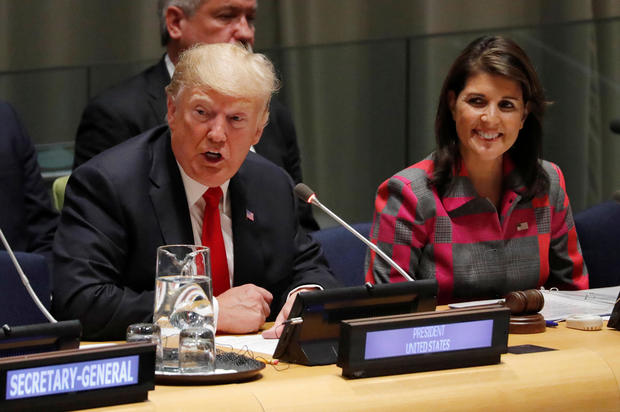 Donald Trump -- United Nations