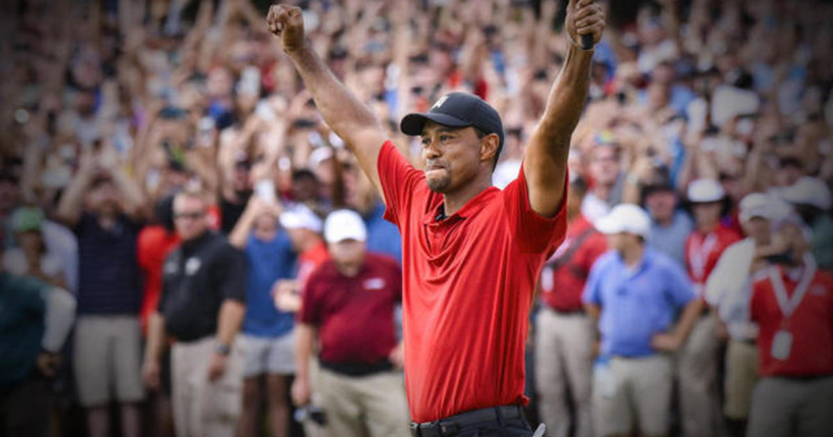 Tiger Woods wins Tour Championship, his first victory in five years