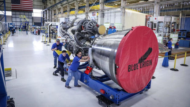 Jeff Bezos' Blue Origin inks rocket deal with Boeing, Lockheed Martin