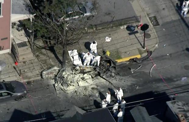 car explosion allentown