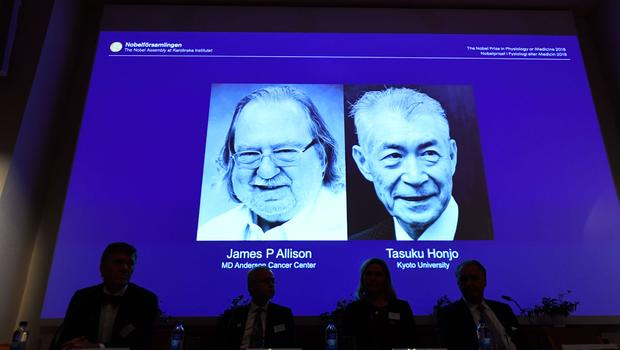 American-Japanese duo wins 2018 Nobel Medicine Prize for landmark cancer research
