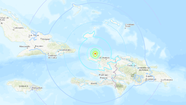 Haiti struck by M 5.9 quake; at least 11 dead