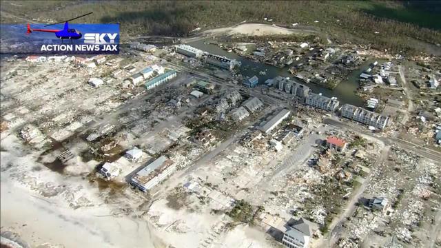 Mexico Beach, Florida - Hurricane Michael damage photos from