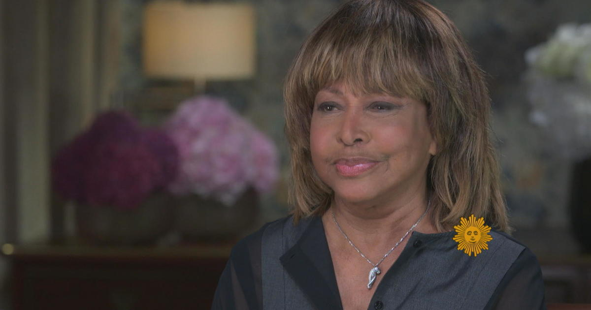 Rock legend Tina Turner opens up about her past insecurities