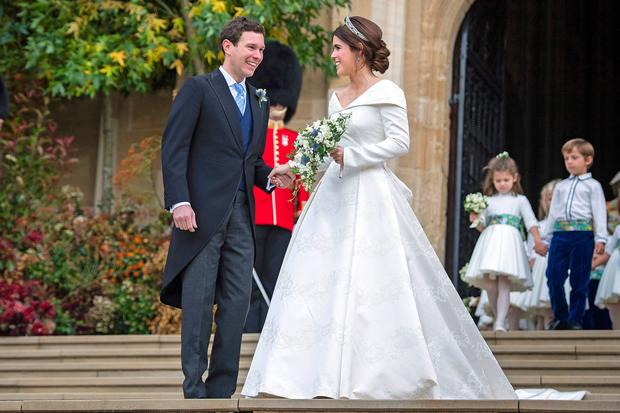 Pictures Of The Royal Wedding.Princess Eugenie And Jack Brooksbank Princess Eugenie S Royal