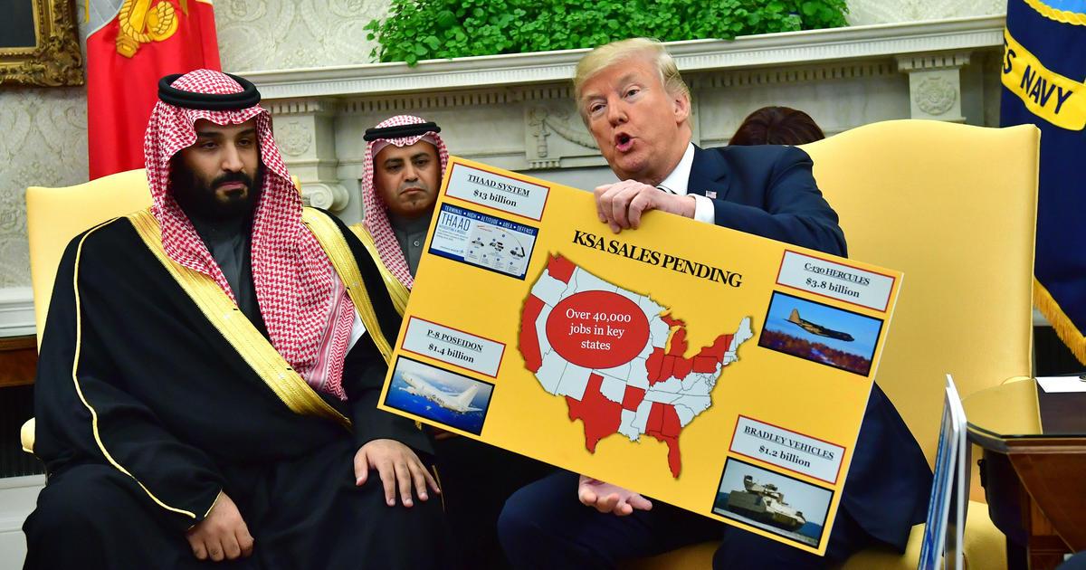 State May Need Billions To Bring Idea >> Saudi Arabia Is America S No 1 Weapons Customer Cbs News