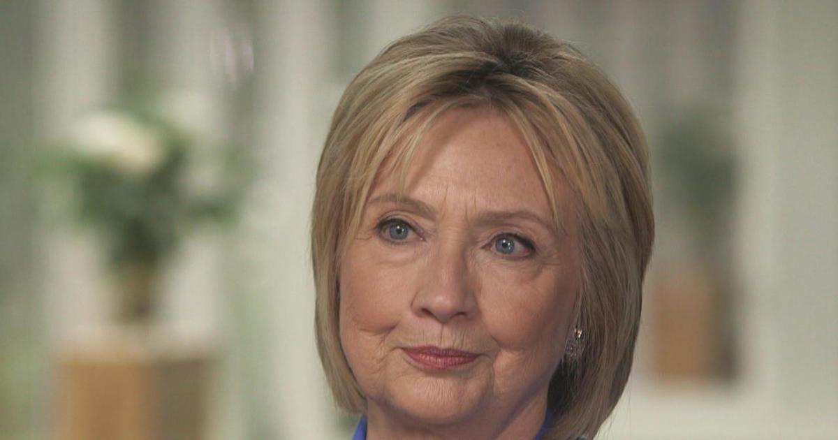 Hillary Clinton On Cbs Sunday Morning Bill Should
